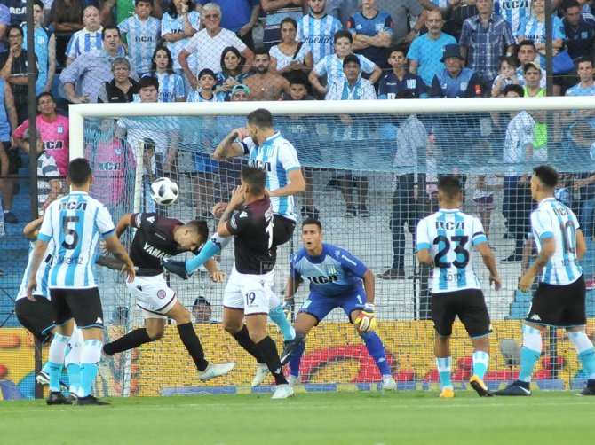 Racing vs Lanus (@RacingClub)