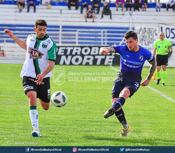 Guillermo brown de Madryn vs Nueva Chicago